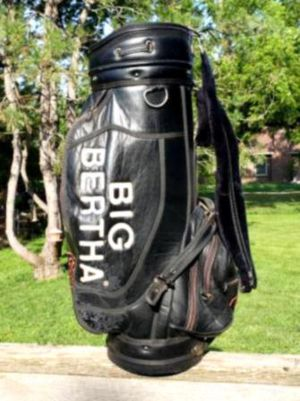 Nike golf bag and 20 clubs for Sale in Crawford, CO