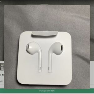 iPhone wired earbuds and lighting to aux dongle asking $20 for Sale in Carson, CA