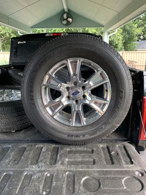 """18"""" Ford Rims And Tires 6Lugs for Sale in Dallas, TX"""