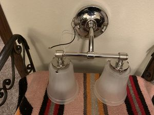 Pottery Barn Sussex Double Chrome Finish Sconce. for Sale in Bismarck, ND