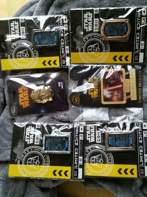 Disney Star Wars Limited additions and limited release pins for Sale in New Eagle, PA