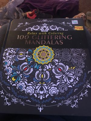 Relax with coloring 100 Glittering Mandalas for Sale in Heath, OH