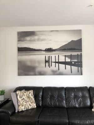 """Large canvas (from Ikea) 78 3/4"""" x 55"""" for Sale in Bellevue, PA"""