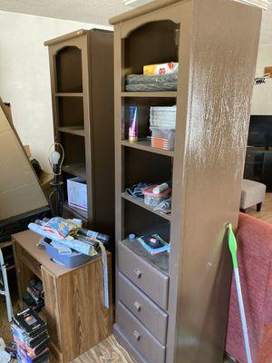 Bookshelves (2) for Sale in Rockdale, IL