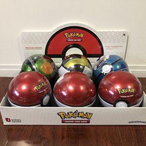 Pokemon Pokeball Tins for Sale in Carson, CA