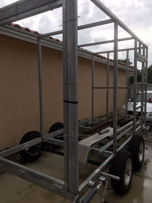 Unfinished utility trailer for Sale in Princeton, FL