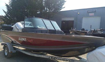 2018 Alumacraft 165 Competitor - aluminum boat for Sale in Pacific,  WA