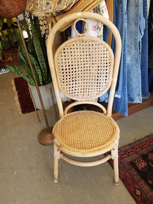 Decorative rattan boho chair wicker for Sale in Queens, NY
