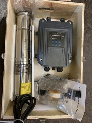 Solar powered submersible well pump kit for Sale in San Angelo, TX