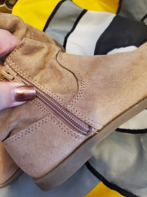 Girls suede boots size 11 for Sale in Somerset, MA