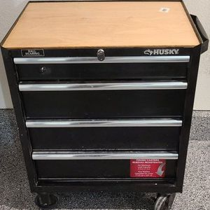 Husky 4 Drawer Cabinet Tool Chest for Sale in Encinitas, CA