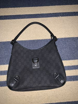 Gucci Black Canvas Hobo Bag for Sale in Houston, TX