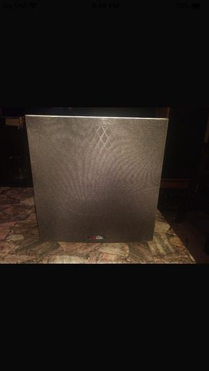 Polk audio front speaker powered sub for Sale in St. Louis, MO