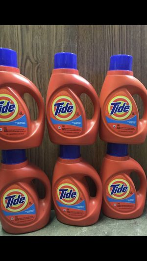 6/ $30 tide 32loads 50fl oz pick up only serious inquires only for Sale in Lodi, CA