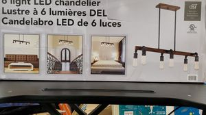 6 light Led chandelier for Sale in Torrance, CA