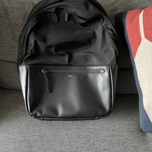 ISM Leather & Nylon Backpack - Large (Black) for Sale in Medina, WA