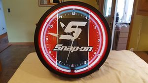 "Snap On Clock 20"" Neon Clock Huge!!New in Box for Sale in Akron, OH"