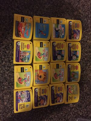 LeapPad kids games for Sale in St. Louis, MO
