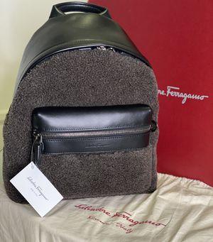 Salvatore Ferragamo Shearling Backpack for Sale in Davie, FL