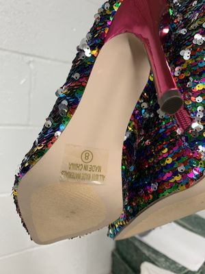 Multicolor heels brand new size 8 for Sale in Washington, DC