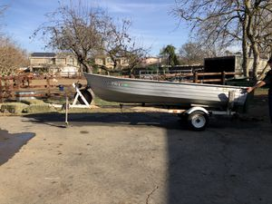 14ft Mirro Craft Aluminum Boat... $700 obo for Sale in Brentwood, CA