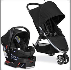 Britax B-Agile travel system. It comes with stroller, infant seat and 2 bases for Sale in Elkhart, IN