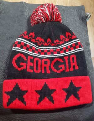 Georgia beanie knitted for Sale in Decatur, GA