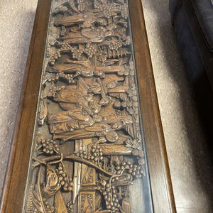 Japanese Hand Carved Wood Coffee Table for Sale in Newport News, VA