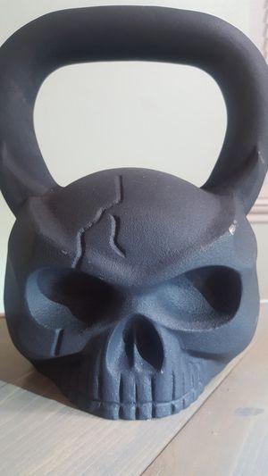 Very rare 44 lb Skull kettlebell. for Sale in Santa Clarita, CA
