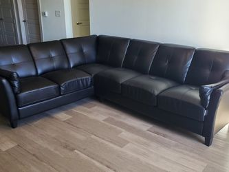 Black Sectional Couch for Sale in Richardson,  TX