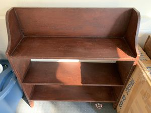 There Shelves Pine Stand. Home Made, $40 or b/o for Sale in West Nyack, NY