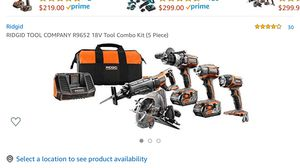 Brand new rigid power tool set for Sale in Leland Grove, IL