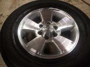 Toyota 6 lug rims tires wheels for Sale in Renton, WA