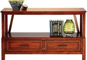 Real wood panama jack sofa table/tv stand like new- MAKE OFFER for Sale in St. Petersburg, FL