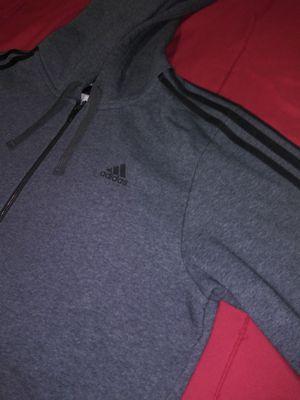 Adidas Three Stripe Hoodie Full Zip Sweater Size XL for Sale in Miami, FL