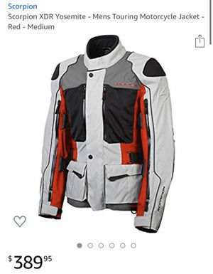 Scorpion XDR Motorcycle Jacket NEW w/tags for Sale in Lorain, OH