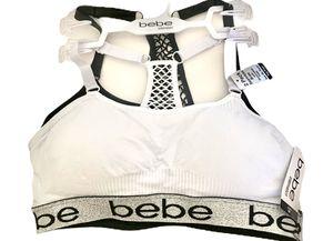 New Bebe sport bra size m for Sale in Austin, TX