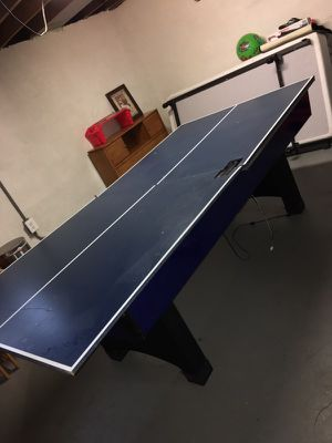 Air hockey/ping pong table for Sale in Wyandotte, MI