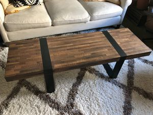 Crate and Barrel Seguro Coffee Table for Sale in Philadelphia, PA
