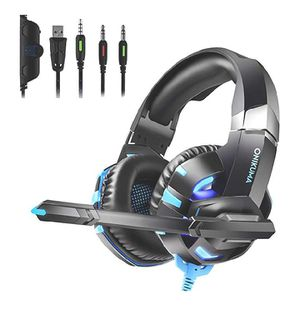 Gaming Headset for PS4 New Xbox one PC Mac Laptop for Sale in Rialto, CA