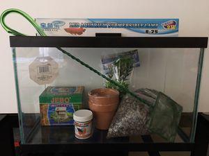 5.5 gal Betta Fish Tank Starter Kit for Sale in Escondido, CA