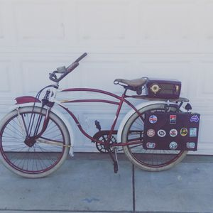 1941 rollsfast bike with mounted westing house for Sale in Riverside, CA