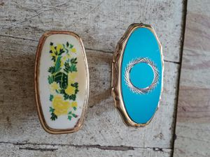 2 ANTIQUE LIPSTICK CASES W/MIRRORS for Sale in Rawlings, MD