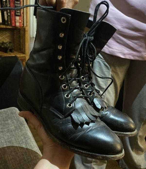 Vintage Men's Justin Boots