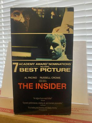 The Insider VHS 📼 Vintage for Sale in Albuquerque, NM