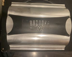 Amplificador para bass bazuka 500 rms 1 canal for Sale in West Covina, CA