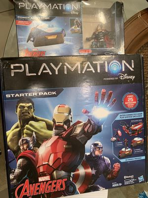 Playmation Disney Avengers toys starter and Thor units for Sale in Winter Park, FL