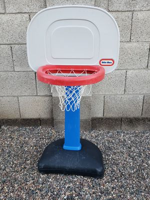 Little Tikes Easy Score Basketball Hoop (adjusts to 6 heights from 2' to 4' tall) for Sale in Phoenix, AZ