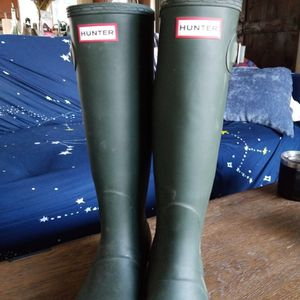 Hunter Boots Women's Hunter Green Size 7 for Sale in Puyallup, WA
