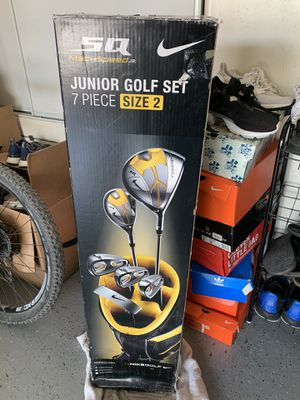 Nike SQ Junior Golf Set 7 PIECE SIZE 2 for Sale in Hayward, CA